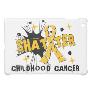 Shatter Childhood Cancer iPad Mini Cases