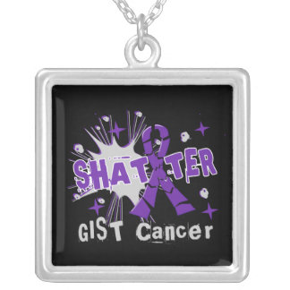 Shatter GIST Cancer Personalized Necklace