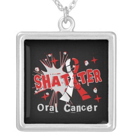 Shatter Oral Cancer Necklace