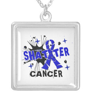 Shatter Rectal Cancer Personalized Necklace