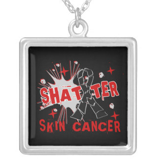 Shatter Skin Cancer Personalized Necklace