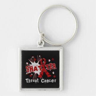 Shatter Throat Cancer Keychains