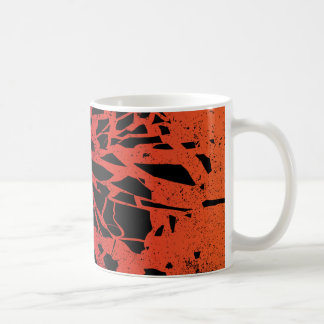Shattered Blues Record Coffee Mug