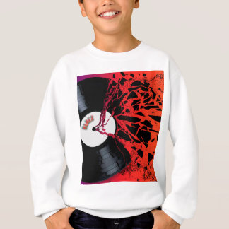 Shattered Blues Record Sweatshirt