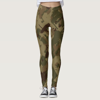 Shattered Camouflage Leggings
