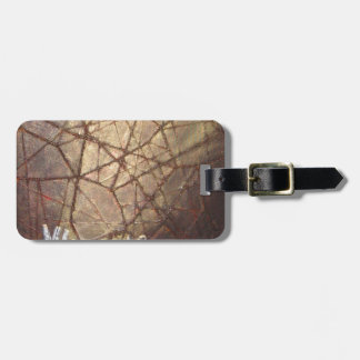 Shattered Glass and Sunlight Luggage Tag