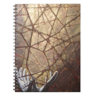 Shattered Glass and Sunlight Notebook