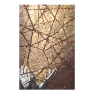 Shattered Glass and Sunlight Personalized Stationery