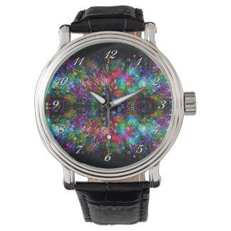 Shattered Glass Spiral Wrist Watch