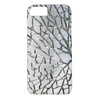 Shattered glass texture iPhone 7 case