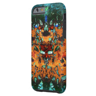 Shattered Sin Abstract Painting Tough iPhone 6 Case