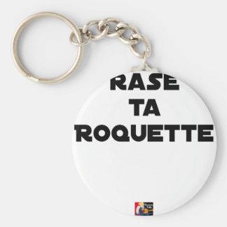 SHAVE MT ROCKET - Word games - François Ville Keychain