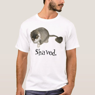 Shaved cat. T-Shirt