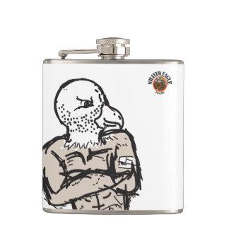 Shaved Eagle Flask