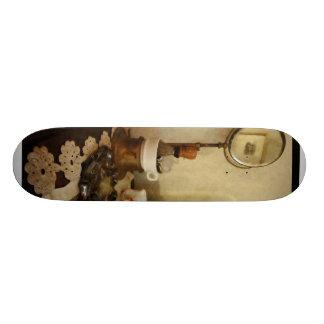 Shaving Brush, Mug and Mirror Skate Board