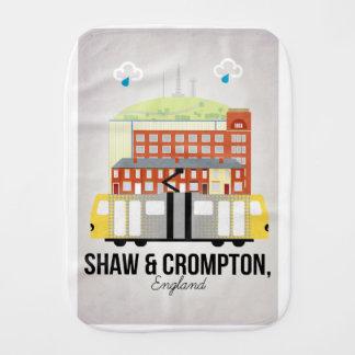 Shaw and Crompton Burp Cloth