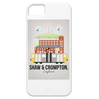 Shaw and Crompton iPhone 5 Cover