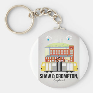Shaw and Crompton Keychain