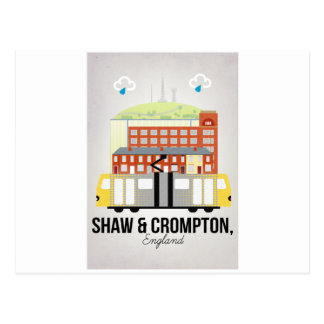 Shaw and Crompton Postcard