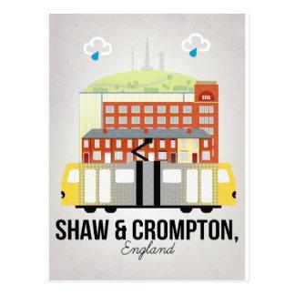 Shaw and Crompton Postcard