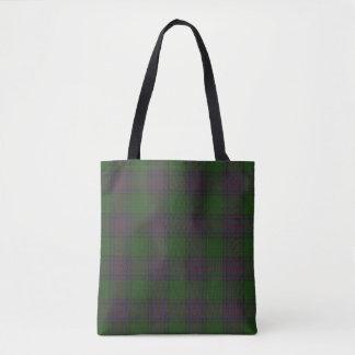 Shaw Clan Tartan Tote Bag