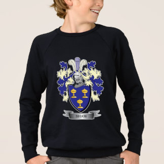 Shaw Family Crest Coat of Arms Sweatshirt