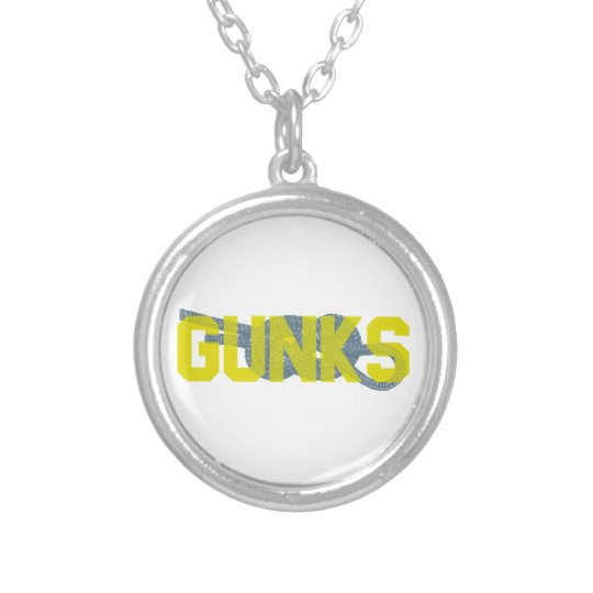 Shawagunks Climbing Silver Plated Necklace