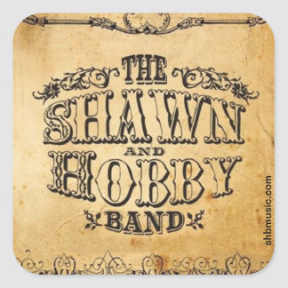 Shawn & Hobby Band Album Sticker