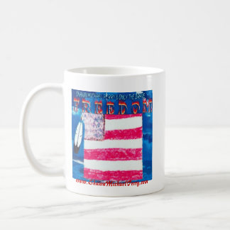 SHAWN MICHAEL PERRY FREEDOM COFFEE MUG