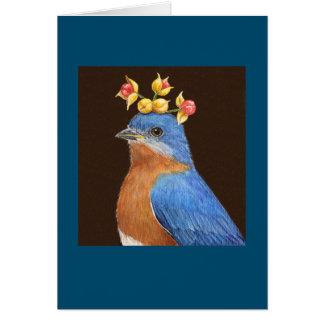 Shawn the bluebird card