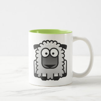 Shawn The Sheep Two-Tone Coffee Mug
