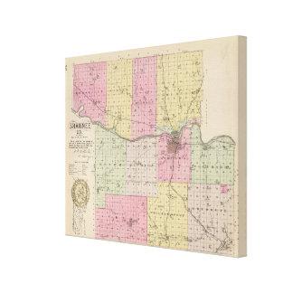 Shawnee County, Kansas Canvas Print