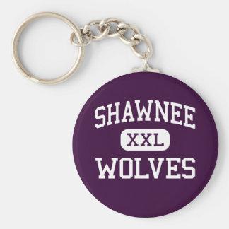 Shawnee - Wolves - High School - Shawnee Oklahoma Keychain