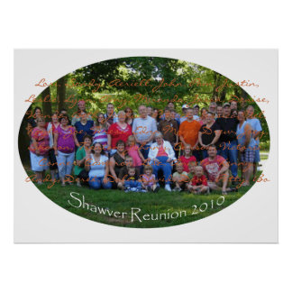 Shawver Reunion 2010, Lori, Sandy, Aeriell, Joh... Poster