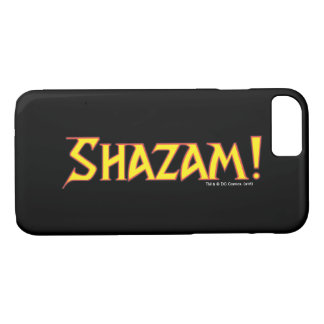 Shazam Logo Yellow/Red iPhone 7 Case