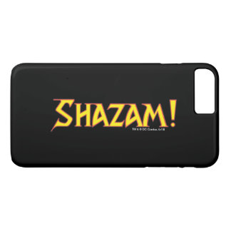 Shazam Logo Yellow/Red iPhone 7 Plus Case