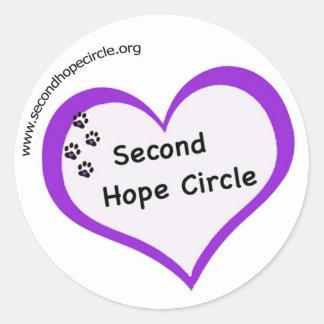 SHC Logo Round Sticker
