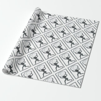 SHE ATLAS WRAPPING PAPER