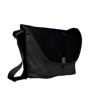 She Believed in Amethyst Dreams Messenger Bags