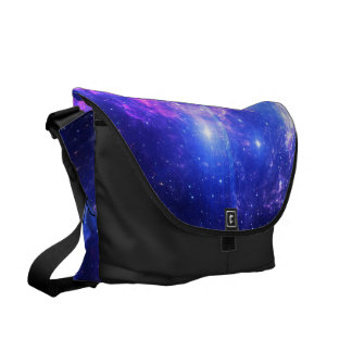 She Believed in Iridescent Skies Messenger Bag