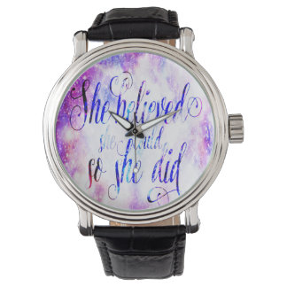 She Believed in Rainbow Universe Watch