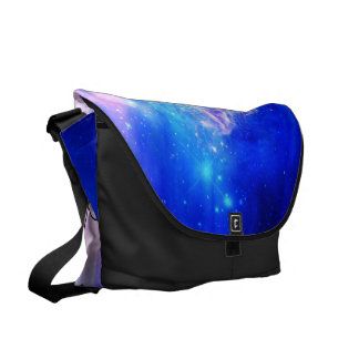 She Believed in Starry Nights Courier Bag