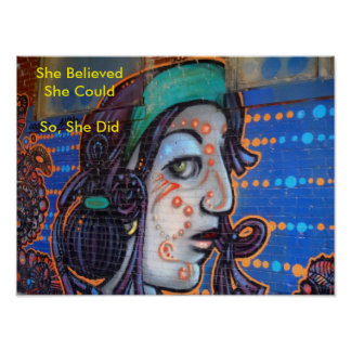 She Believed Recovery Poster