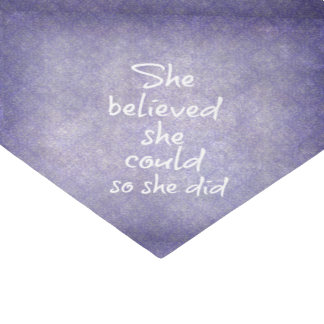 She Believed she Could so She Did Quote Tissue Paper