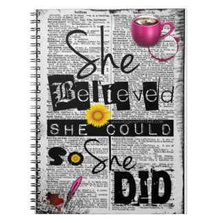 She Believed She Could Spiral Journal