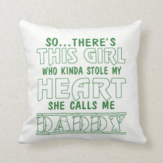 SHE CALLS ME DADDY THROW PILLOW