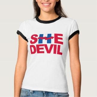 SHE DEVIL - ANTI-HILLARY - - Anti-Hillary - T-Shirt
