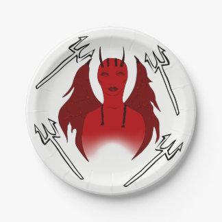 SHE DEVIL/DEMON PARTY PLATE