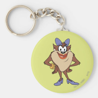 She-Devil in Color Basic Round Button Keychain