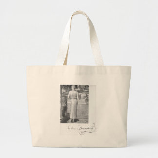 She drives a Duesenberg Jumbo Tote Bag